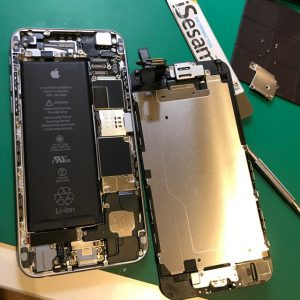 iPhone6のフロントパネル交換