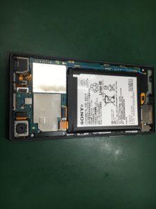 Xperia Z5 フロントパネル交換