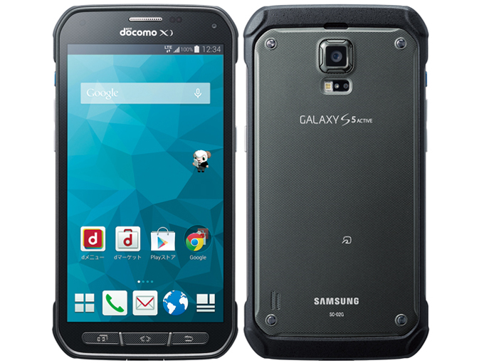 Galaxy S5Active (SC-02G)