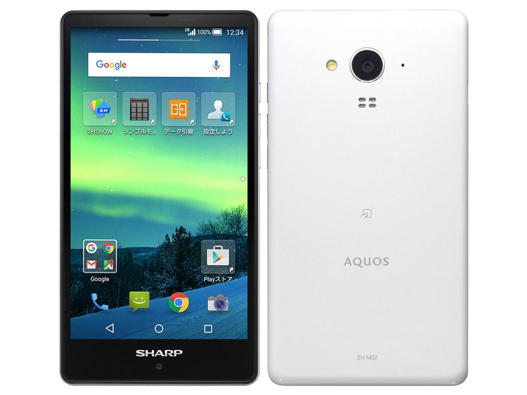 AQUOS(SH-M02)