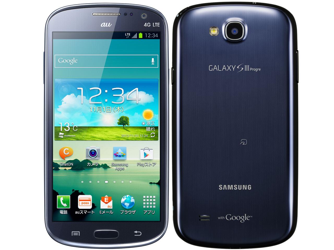 Galaxy SⅢProgre (SCL21)