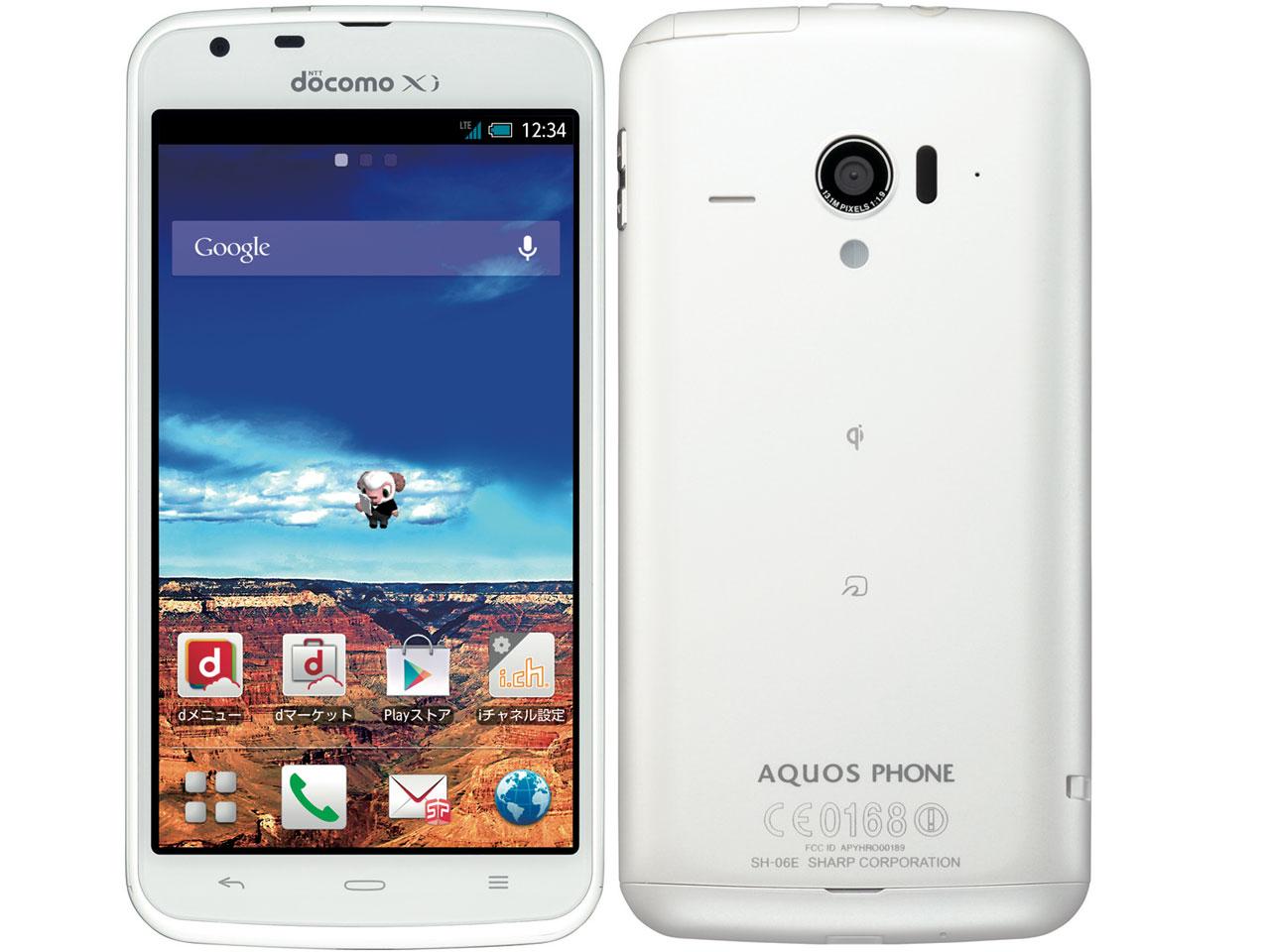 AQUOS PHONE ZETA (SH-06E)