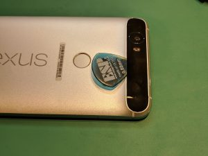 Nexus6Pのバッテリーを交換画像